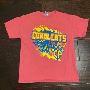 Other - Cheer Athletics Coral Cats shirt